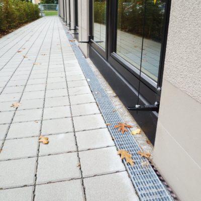 Barrierefreie Entwässerung in der Adalbert-Stifter-Schule in Nürnberg
