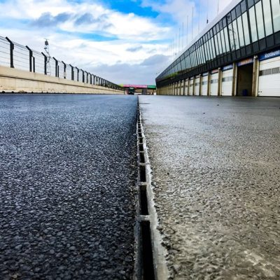 RECYFIX HICAP T entwässert den Circuit Park Zandvoort