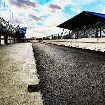 Tribühne an der Rennstrecke Circuit Park in Zandvoort