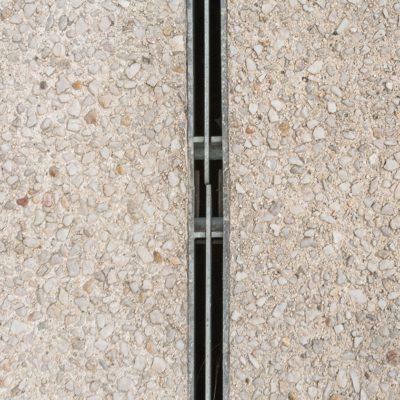 FASERFIX KS Rinnen mit symmetrischen Doppelschlitzabdeckungen