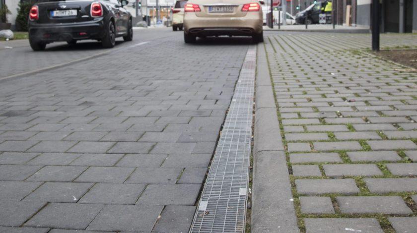 Entwässerung Europa Viertel Frankfurt