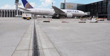 Flughafen Entwässerung Airside