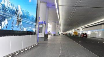 Flughafenentwässerung Ankunftsebene Frankfurt Terminal 1