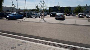 Mitarbeiterparkplatz HAURATON Ötigheim