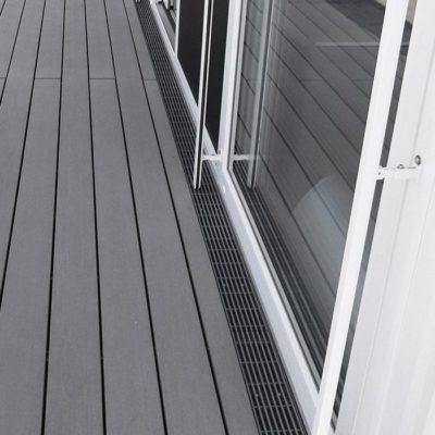 Barrierefreie Entwässerung eines Penthouses in Wiehl