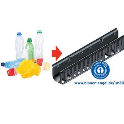 RECYFIX wird aus recycelten Materialien produziert