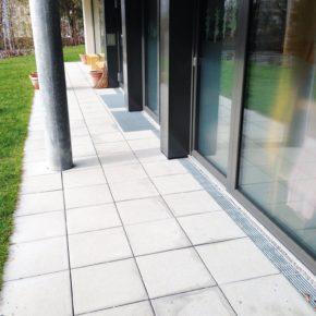 Barrierefreie Entwässerung in einem Wohnheim in Zürich