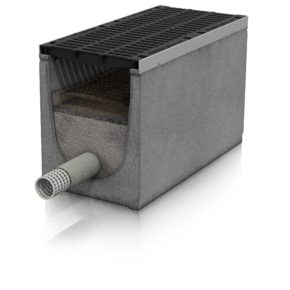 Produktdarstellung DRAINFIX CLEAN Filtersubstratrinne