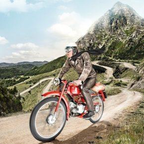 Mit der Moto Guzzi über den Gotthardpass