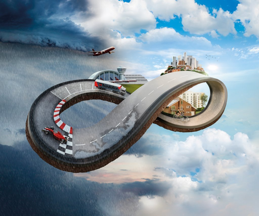 Key Visual infinite possibilities for drainage