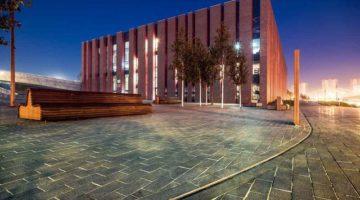 Konzerthalle Nospr in Kattowice Polen