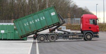 Entwässerung Logistikhof in München