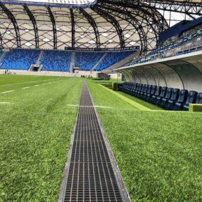 MEDIENRINNE im Al Nasr Stadion
