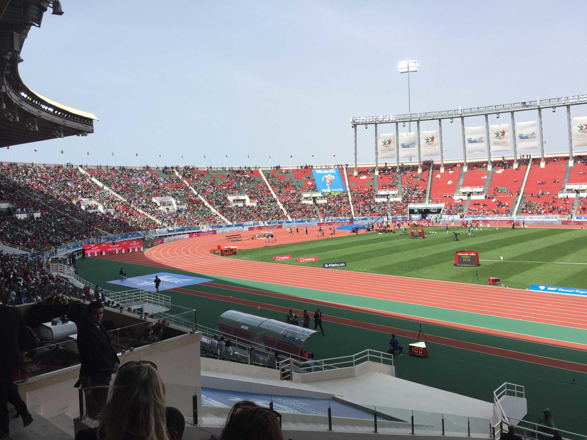 Stadion Rabat Entwässerungssystem von HAURATON