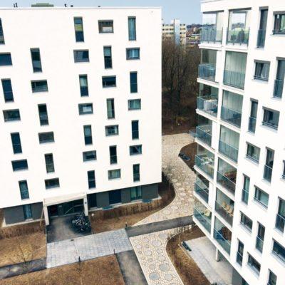 Moderner Wohnkomplex München