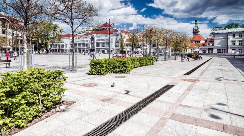 Open space within Markplatz-Polen