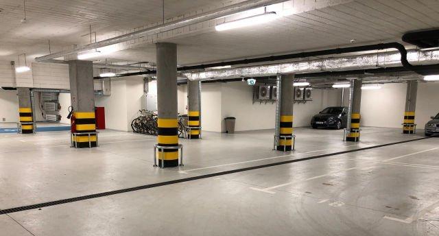 Underground car park at Hotel Puro in Poland with FASERFIX KS