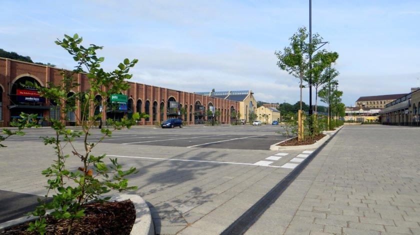 Fox valley retail park car park