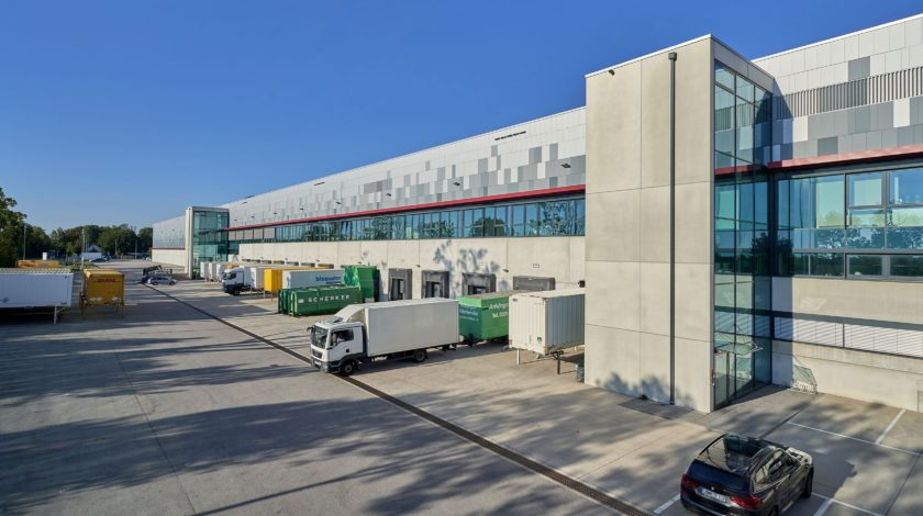 Mode-Logistikzentrum bei München