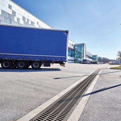 DRAINFIX CLEAN Logistikzentrum bei München