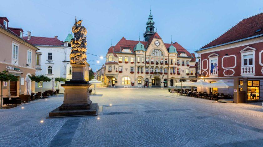Entwässerungslösung Öffentlicher Platz Center Ptuj